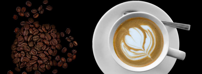 Kaffee aus frisch gemahlenen Kaffeebohnen