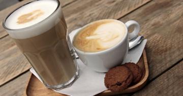 kaffeevollautomat mit milchschaumsystem